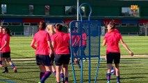 Xavi Llorens i Leila Ouahabi analitzen el partit contra l'Espanyol