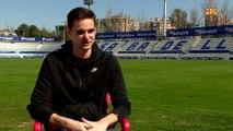 Entrevista a Jokin Ezkieta prèvia al CE Sabadell – FC Barcelona B