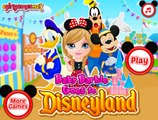 Baby Barbie Goes To Disneyland - Baby Game Video / Games for girls online.