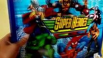 Superhero marvel toys, Spiderman vs Venom, Hulk, Thor, Iron man, wolverine, Captain Americ