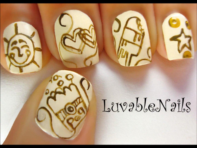 Cute nail designs video cute nail art