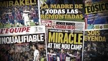 La folle revue de presse du mythique Barça - PSG !
