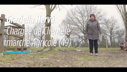 A la rencontre des acteurs du monde agricole : Graziella Hervé