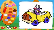 Dasha Ranger, Dora the ExplorerColoring Video For Kids Раскраски Даша Следопыт Путешествен
