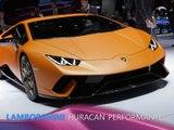 Lamborghini Huracan Performante en direct du Salon de Genève 2017