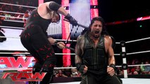 Roman Reigns 1st Time WWE Last Man Standing Match Reigns Face to Face Kane in WWE History