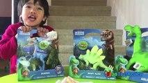 Хороший динозавр игрушка Арло место Bubbha игрушки для детей дети малышей Райан ToysReview