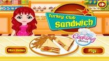 Turkey Club Sandwich: Cooking Games - Yummy Turkey Club Sandwich! Kids Play Palace