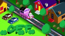 Extreme Train Crashes Fun Action For Children and Kids By Characters Finger Family CFF