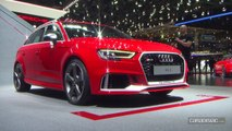 Audi RS3 restylée: reboostée - En direct du salon de Genève 2017