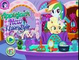 Пони в салоне красоты Pony in a beauty salon