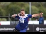 Men's shot put F42   2014 IPC Athletics European Championships Swansea