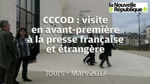 VIDEO. Tours : Visite en avant-première du CCCOD
