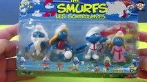 LES SCHTROUMPFS The Smurfs Smurfette Clumsy Smurf Gargmel Smurfs Unboxing Smurf Cartoon
