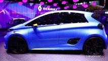 Renault Zoé e-Sport Concept : 460 ch et 0 à 100 en 3,2 s - En direct du Salon de Genève 2017