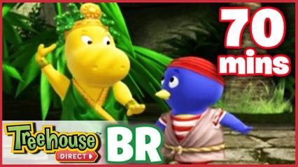 Os Backyardigans Desenho Animado - Episódios 33-35 Compilação De 70 mins Para Crianças