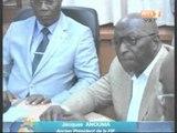 Passation de charges à la federation ivoirienne de football