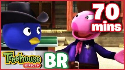 Os Backyardigans Desenho Animado - Episódios 41-43 Compilação De 70 mins Para Crianças