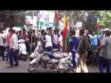Karnataka Bandh: Jaya Karnataka outfit protest Jayanagar