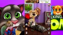 Talking Tom Cat Funny videos in english - Kids Babies Game - GERTIT vs Tom Cat Screaming 2