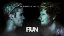 Justin Bieber ft. Ed Sheeran - Run (Official video clip) New song 2017