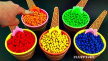 Learn Colors for Children with Play Doh Dippin Dots Surprise Toys Spongebob Angry Birds-eV0Ry