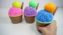 Learn Colors Clay Foam Ice Cream Cups Surprise Toys Minions Spiderman Hello Kitty Toys Story-ECFu8iOkq