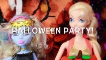 HALLOWEEN PRANK Barbie Frozen Monster High Doll Parody Play-Doh Halloween Costumes DIY KIDS Trick-iul9l4C2V