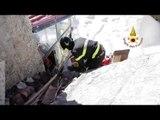 Castelluccio di Norcia (PG) - Terremoto, recupero beni personali -2- (24.02.17)