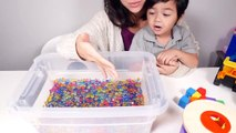 ORBEEZ Toys kid's videos! Learn COLORS & learn SHAPES with toy cars in educational videos for kids-puxTg