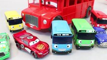 Disney Cars Tayo the Little Bus English Learn Numbers Colors Toy Surprise Toys-WThZ_