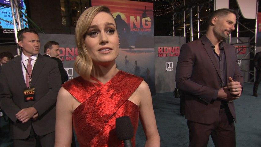 'Kong: Skull Island' World Premiere: Brie Larson
