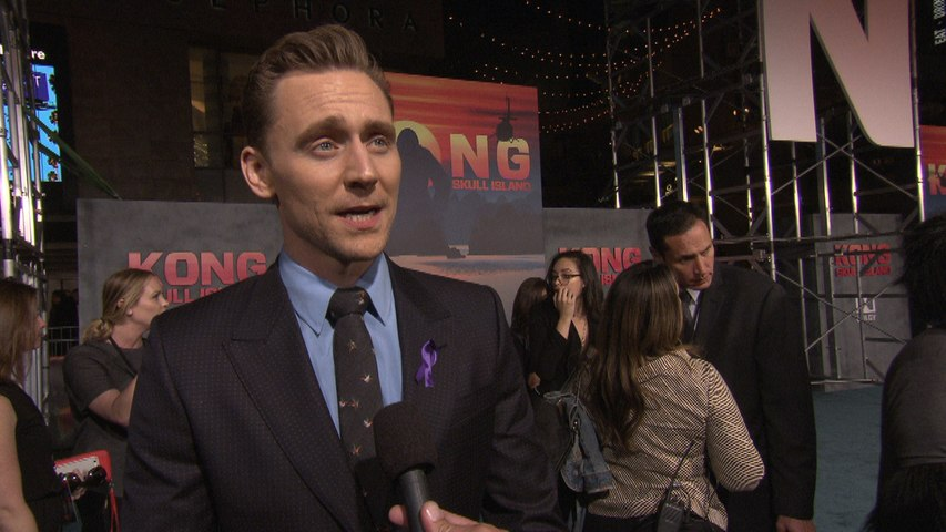 'Kong: Skull Island' World Premiere: Tom Hiddleston