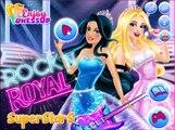 Барби в Рок королевский суперзвезд как Принцесса и поп звезда платье вверх лечь в дрейф