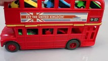Disney Cars Tayo the Little Bus English Learn Numbers Colors Toy Surprise Toys-WT