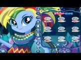 ☆ MLP Rainbow Dash Equestria Girls Leyenda De Everfree Nuevo Juego de Vestir Para Niños