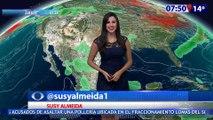 Susana Almeida Pronostico del Tiempo 9 de Marzo de 2017