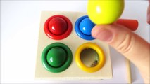 Baby toy learning video learn colors with wooden toys for babies toddlers preschoolers learn english