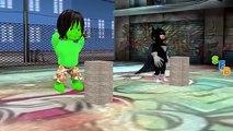 Frozen Elsa Spiderman Hulk SpiderGirl Vs Animals Joker Killer Clown Venom Scream Funny Sup