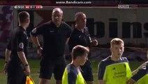 Adam Lewis Red Card - Manchester United u18s 0-1 Liverpool 18s - 10/03/17