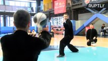 What Happens When Kung Fu Masters Mix Tai Chi and Basketball?