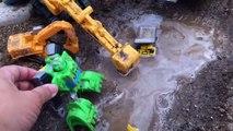 Kids Toys BeeTube - Transformers Rescue Bots Toy Boulder Bulldozer Construction Bot Diggin