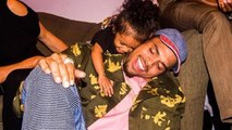 Chris Brown's Daughter Royalty Spoils His Rehearsals