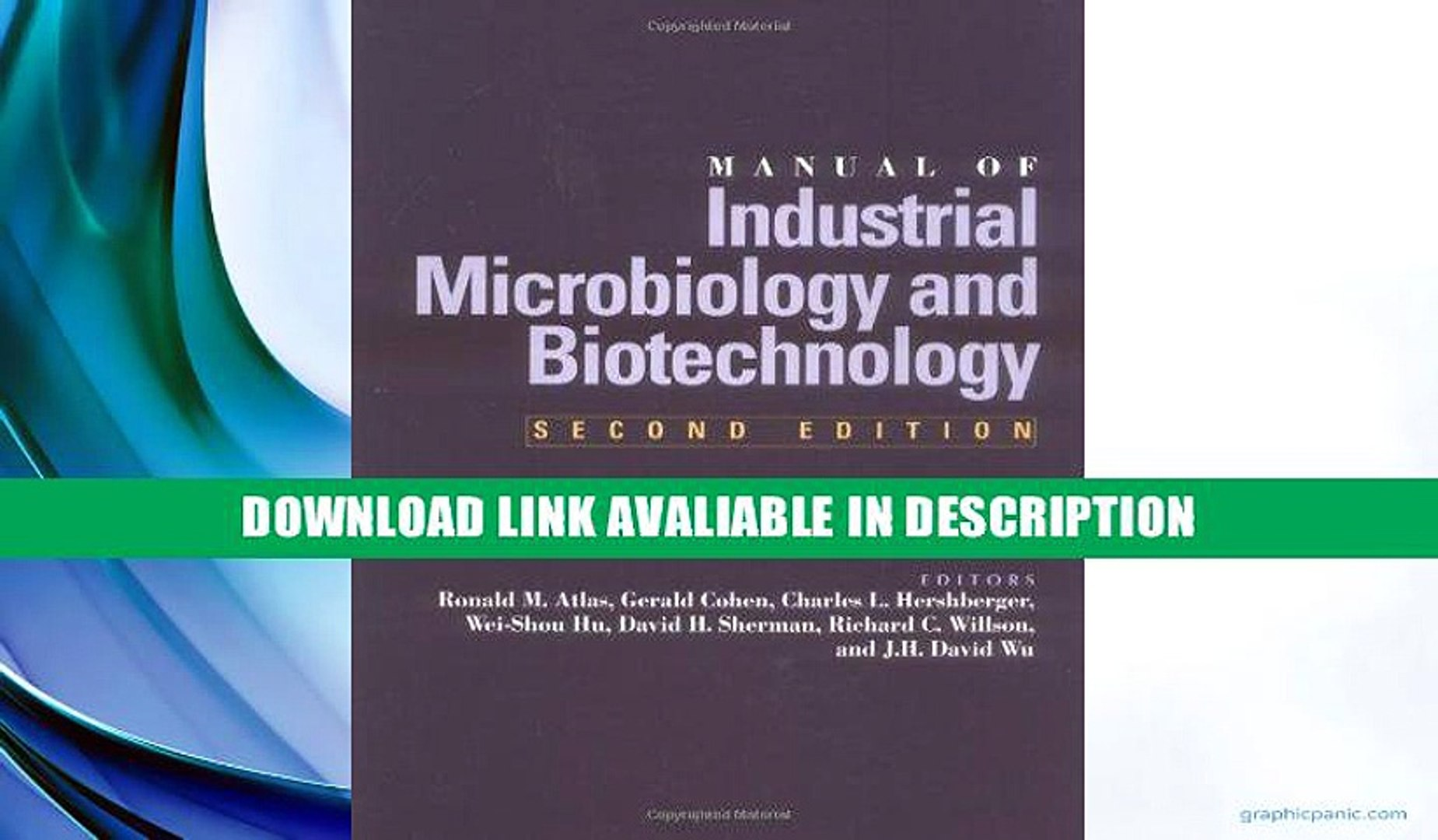 biotechnology a textbook of industrial microbiology free download