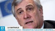 """Antonio Tajani : """"Ce n'est pas une bonne solution pour la France de quitter l'Europe et l'Euro"""""""