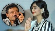 Sonam Kapoor Takes A Dig At Ram Gopal Varma   Bollywood Buzz