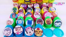 30 Play-Doh Toy Surprise Eggs - Nick & Disney Jr. - PJ Masks, Paw Patrol, Mickey Mouse Clu
