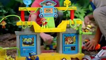 PAW PATROL TOY REVIEW Jungle Rescue Monkey Temple New Pup Tracker & Kids Jungle