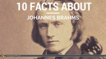 Brahms - 10 facts about Johannes Brahms ,  Classical Music History