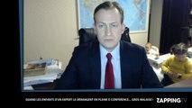 Un expert de la BBC se fait voler la vedette par ses enfants, la vidéo hilarante
